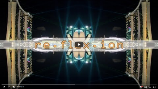 "re.flex.ion - a ""mirrorlapse"" video project"